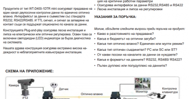 WIDE AREA TIMES TECHNOLOGY CO.Ltd  1 СОД DSC - Варна