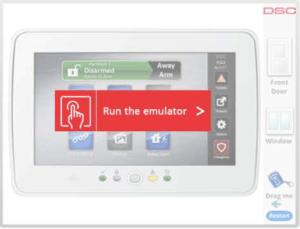 run emulator image СОД DSC - Варна